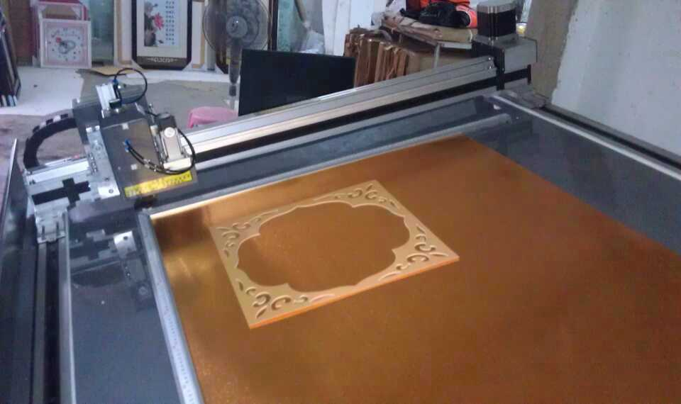picture frame decorate board CNC cut machine for sale – mat board ...