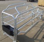 hot dip galvanized pig farrowing crate pig cages for pig farming