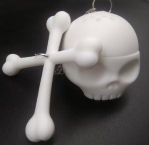 China custom wholesale high quality silicone Skull Tea Infuser on sale
