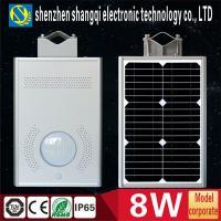 High Brightness 6000k - 6500K White Solar Powered LED Garden Lights 8 Watt