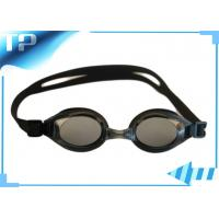 Mens Prescription Clear Swim Goggles With Interchangeable Nose Bridge
