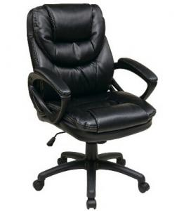 China Leather Manager China Office Chair with Padded Arms on sale