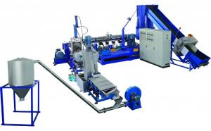 China Anti Aging Pet Plastic Recycling Machine , Durable Plastic Recycling Plant Machinery on sale