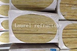 Quality Basalt Rockwool Board Refractory Insulation Size 1200 × 600 × 100MM for sale