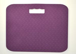 China Purple Yoga Kneeling Pad , Sports Knee Pads / Cushion For Gardening on sale
