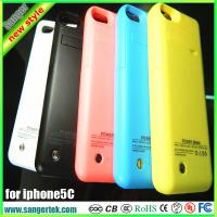 Battery Case for iphone 5C backup battery for iphone5C extended battery case with 5 colors choice !!!