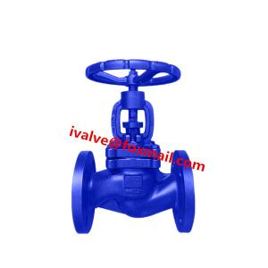 China DIN Cast Iron Globe Valve / Angle Type Globe Valve on sale