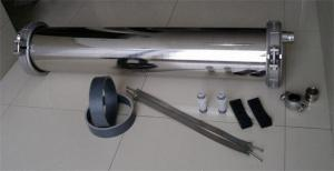 China Stainless Steel 8040 RO Membrane Housing For Water Purification Multi Function on sale
