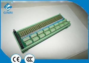China DC Motors 32 Channel PLC Relay Module With RC ARC Extinction Circuit on sale