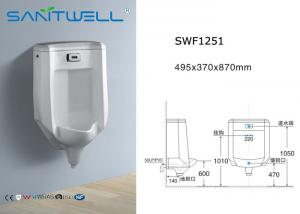 China Ceramic Retrofit Washdown Urinal SWF 1251 495*370*870 mm size on sale