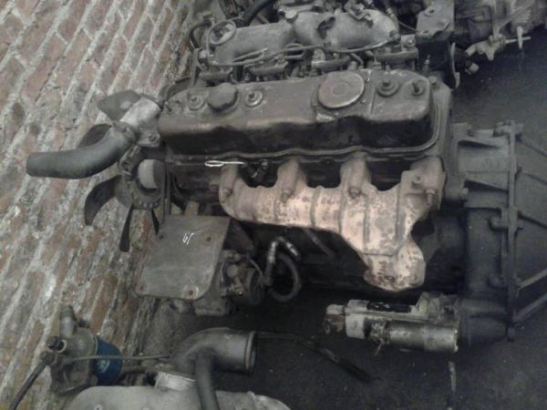 Used 4BD1 / 4BD1T Isuzu Diesel Engine Parts , 4JB1 / 4JB1T