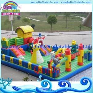 China used commercial inflatable bouncers for sale/bouncy bouncer for sale on sale