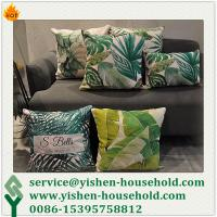 China Yishen-Household Decorative pillow, sofa cushion,Mr Right Cushion Cover Pillow Case Linen Fabric Digital Print Cushion on sale