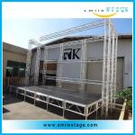 Easy Install 4*8 FT Aluminum Stages Platform for Weddings Staging