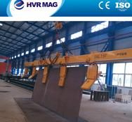 China Electro permanent lifting magnet for side lifting steel plate on sale
