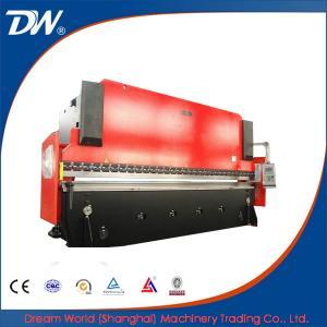 China Freno de aluminio de la prensa del CNC de WC67K, freno de la prensa de la hoja on sale