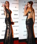 One Shoulder Long Evening Party Dresses Sheath Backless Black Lace For Party