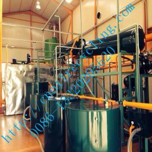 China El aceite usado ZSA de JunNeng que reciclaba restauración de la máquina su negro utilizó totalmente el aceite on sale