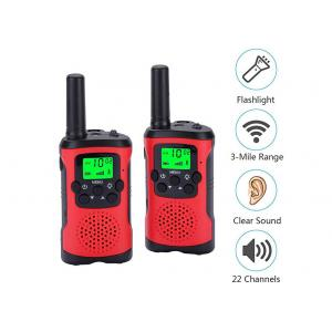 Adjustable Volume Level Real Walkie Talkie With Low Battery Alert Function
