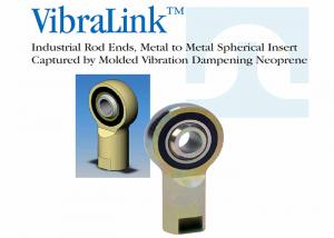China Stainless Steel Spherical Rod Ends , Fully Threaded Solid Rod Ends For Truck / Bus on sale