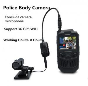 China cámara llevada cuerpo portátil de la policía 3G con el mini sistema ocultado de la cámara del micrófono on sale