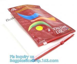 China Slider Top Black Logo Printed 200 Mics Frosted Travel PVC Bag, vinyl toiletry zipper bag pvc slider bag custom zipper tr on sale
