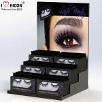 Create Beauty Acrylic Lash Display Fake Strip False Eye Lash Box Retail Display Desktop