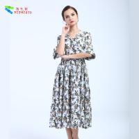 YIZHIQIU Chinese 100% Cotton bridesmaid dress