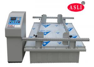 China Electronic vibration test simulation transport vibration test machine for carton,package,cargo,luggage on sale