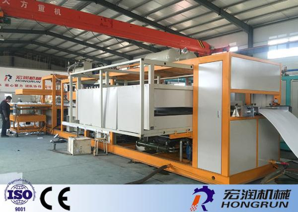PLC Control Thermocol Disposable Plate Making Machine / Eps
