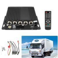 Vehicle AHD SD Mobile DVR Realtime SD Card Video / Audio Recorder Remote Awesome