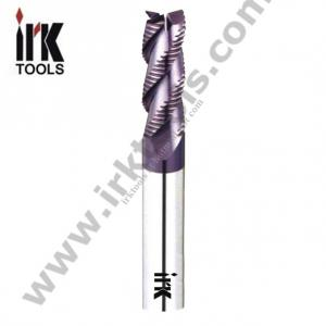China tungsten carbide 3-flute roughing end mills on sale