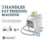 Professional home use portable liposuction cryolipolysis cryotherapy slimming machine