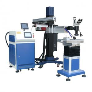 China Stainless Steel Mould Laser Welding Machine Microscope Copper Wires Repairer on sale