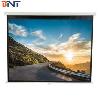 China High Gain Electric Projector Screen , 84 Inch Remote Control Projector Screen on sale