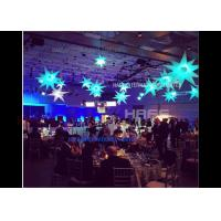 HAFE Colorful Changing Led Inflatable Led Star , Decoration Hanging Star 100W