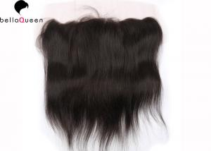 China Indian Natural Hair 13 X 4 Human Hair Lace Wigs Silky Straight Hair Extension on sale