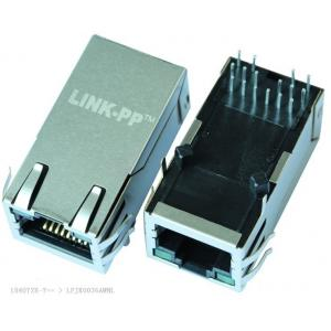 China 1840728-7 Mag Rj45 Jack 1G41 Gigabit Schematic Shieled With LED Server Adapters on sale