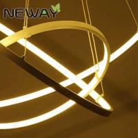 Modern brief circular hanging led lights Brief modern indutrial design pendant light Modern chandelier drops