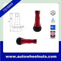 China Custom Red Zinc Alloy Tire Valve Stem Tr413 ISO / TS16949 Standard on sale