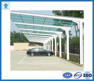 China Most competitive price anodized aluminum profile for sunshade for parking on sale