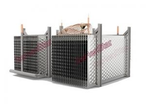 China Water Heater Low Energy Consumption and Environmental Protection Pillow Plate Heat Exchanger supplier