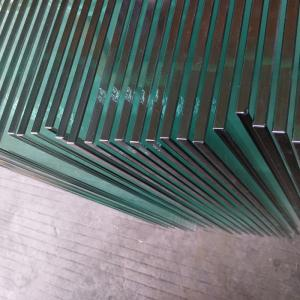 China 10mm clear tempered glass,safety glass with CE/EN12150 certificate on sale