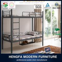 High quality metal bunk bed with shoe shelf,military metal bunk bed