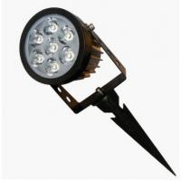 Adjustable waterproof rotate small size 7W IP65 LED garden light with spike