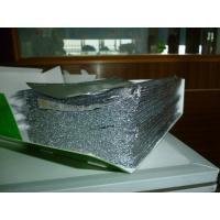 China Plain Sheet Catering Aluminium Foil Roll Embossed Folded Aluminium Foil Sheets on sale