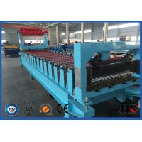 Metal Sheet Roof Roll Forming Machine , Corrugated Roll Forming Machine