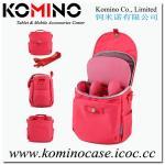 Bolso rojo de nylon de Komino SLR