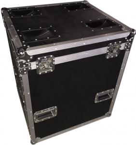 China 9mm Plywood With 1mm Fireproof Wood Color Rack Flight Case Standard Case on sale