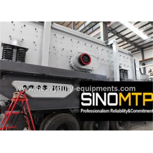 China Two - Spindle Body Stone Crusher Machine , Mobile Cone Crusher 6-75 mm Feeding on sale